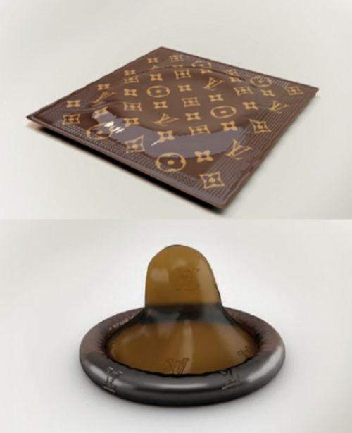 Louis Vuitton $68 Luxury Condom