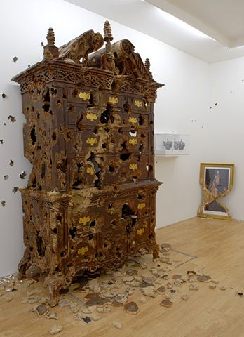 View from Thanatopsis: Installation  Valerie Hegarty