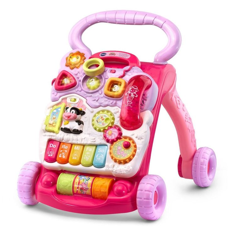 Learning Walker Activity Toy Pink Baby Early Adjustable Musical Notes Sound #VTech,=> Easy & pleasant transaction => Quick delivery => 100% Feedback => http://bit.ly/24_hours_open #Activity,#Toys,#Baby,#Kids,#Educational,#Party,#Learning