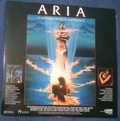 Aria Laserdisc 1987 R Altman 9 Other Directors Theresa Russell Buck Henry Erotic | eBay