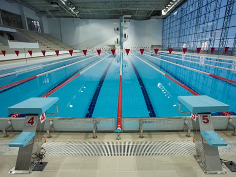 the training benefits of an olympic size pool