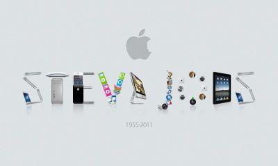 Steve Jobs, Tribute Apple Macintosh (click to view)