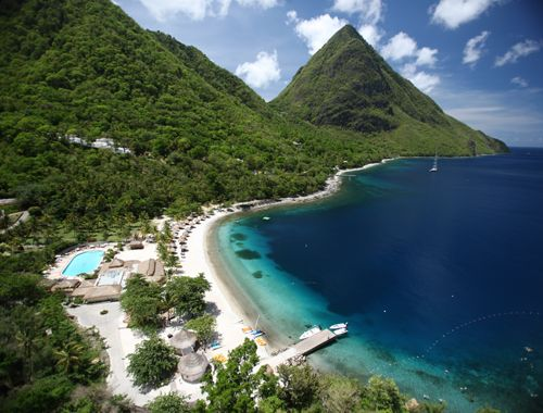Explore The Beauty Of Caribbean: 1000+ Ideas About Sugar Beach St Lucia On Pinterest
