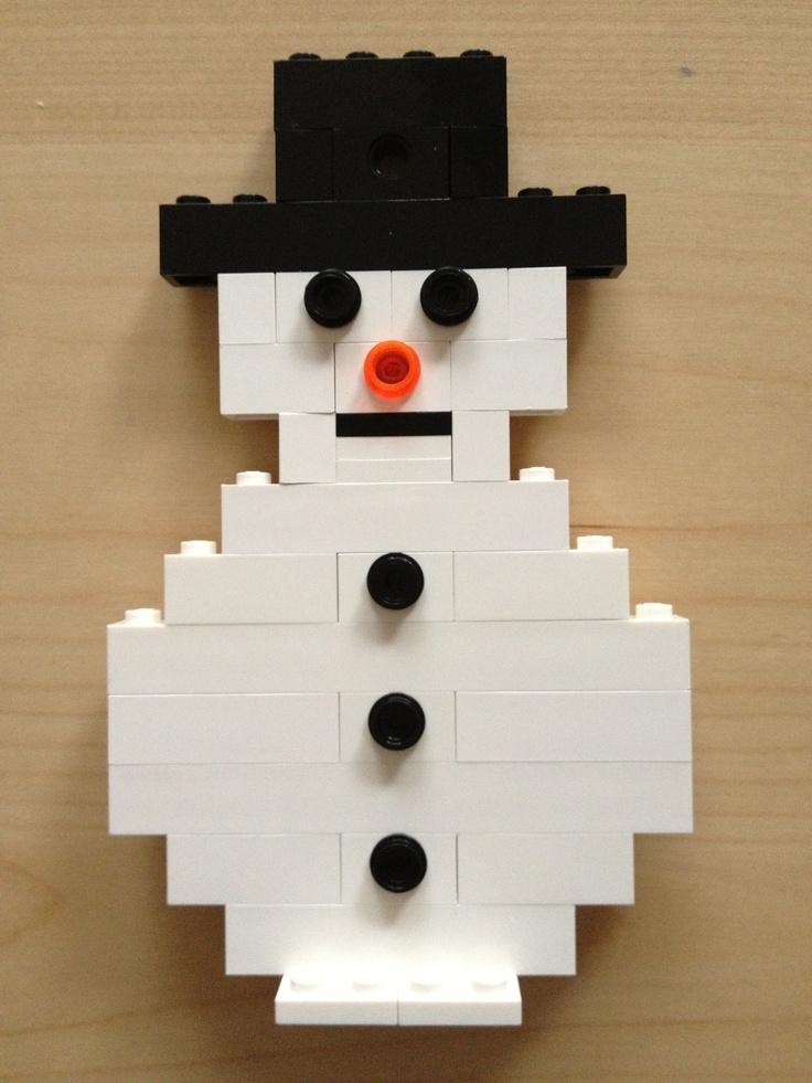 LEGO sneeuwpop