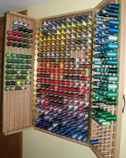 One Piece at a Time: Thread Cabinet