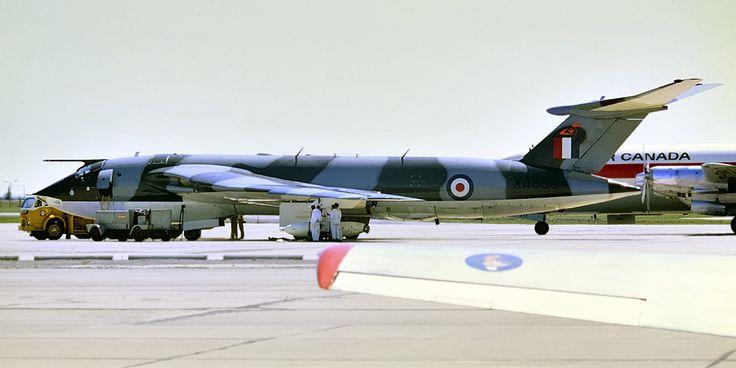 Toronto Malton 1968 - RAF Handley Page Victor V-bomber..