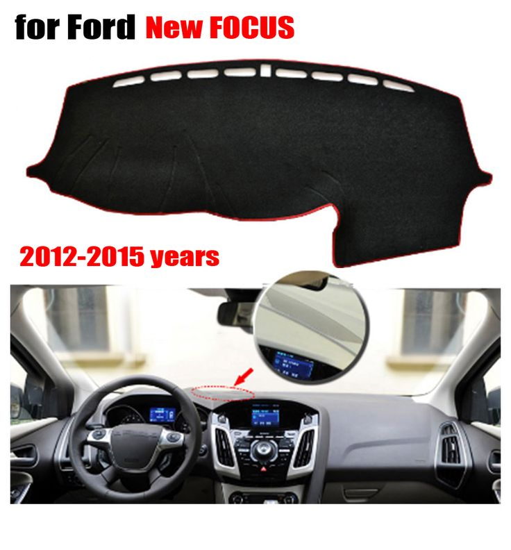 Car dashboard covers mat for Ford New Focus 2012-2015 Left hand drive dashmat pad dash covers Instrument platform accessories