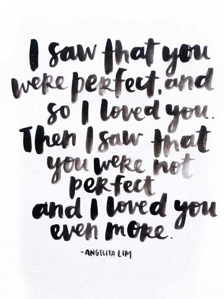 Perfectly Imperfect quote