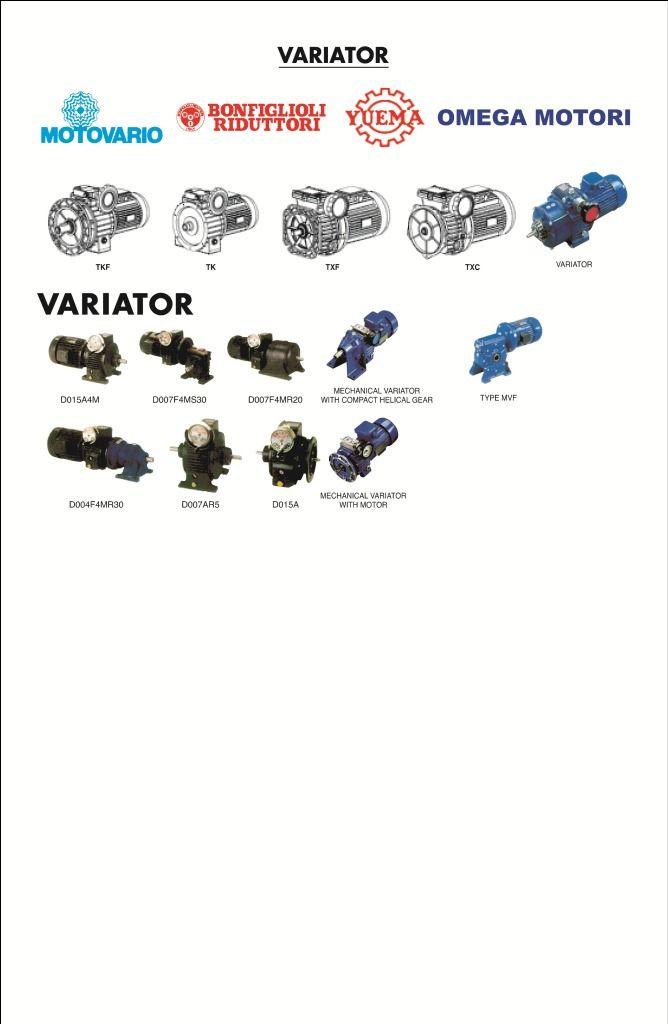 Variator, Geared motor and Gearbox  Order and Inquery Komp Perkantoran Sunter Permai B11  Jl.Danau Sunter Utara Kav. K-2-Sunter Agung  JAKARTA 14350 - INDONESIA Telp :021- 6519582 (Hunting)  Fax Toll Free :0800-1-666-777 Mobile: +62-81284976543-08782251777   PIN BB: 7E75274E mail: projectsls@ sarana-teknik.com