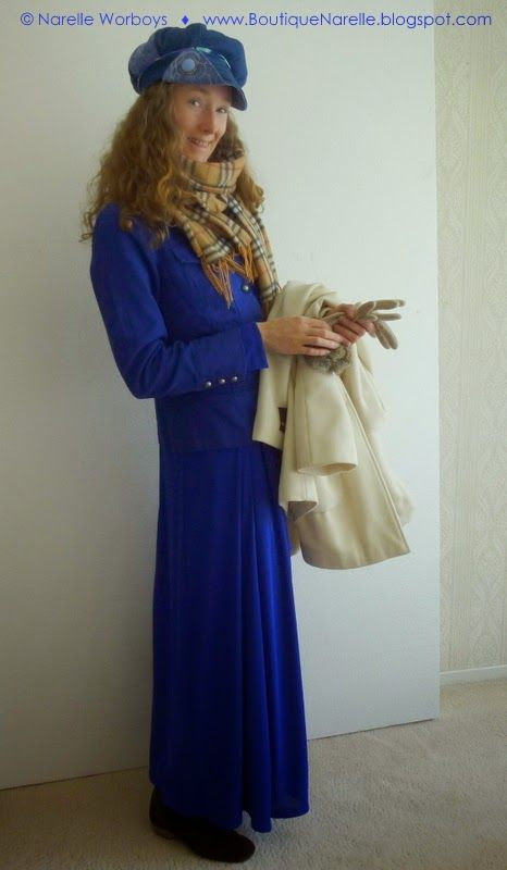 "Bluebelle Bliss: the joy of a modest dress, from ""Dress Express: 3 steps to getting that 'new dress' feeling""  @ http://boutiquenarelle.blogspot.co.nz/2014/09/dress-express-3-steps-to-getting-that.html"