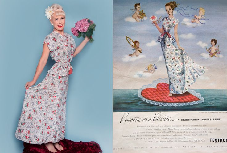 Textron Frock and Poster