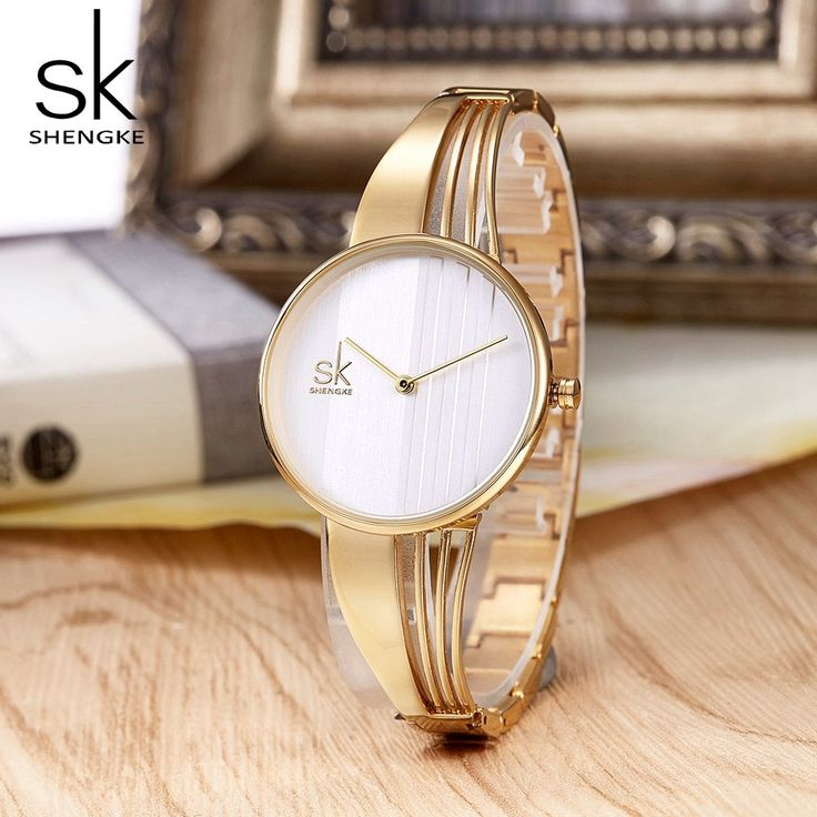 Shengke Модные Позолоченные для женщин часы Шарм ...