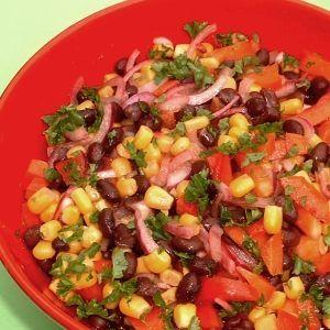 De Kooktips - Mexicaanse bonensalade
