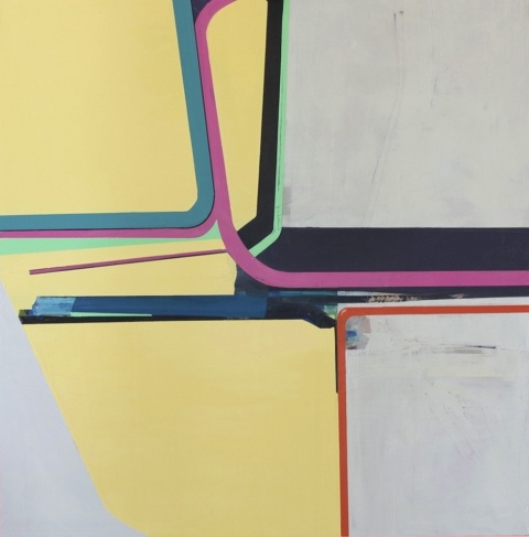 Lowrider; 2013; oil on panel; 36 inches by 36 inches