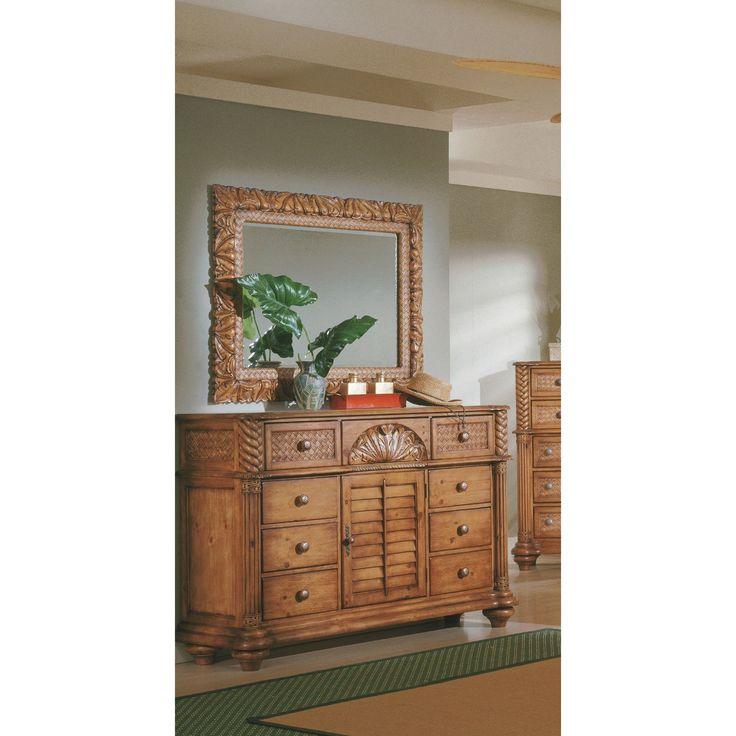 Progressive Palm Court Island Triple Dresser