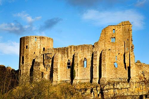 The Castle Ruins Barnard Castle County Durham England by Mark Sunderland, via Flickr
