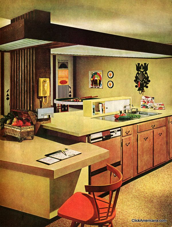 Four wonderful, workable kitchens (1965