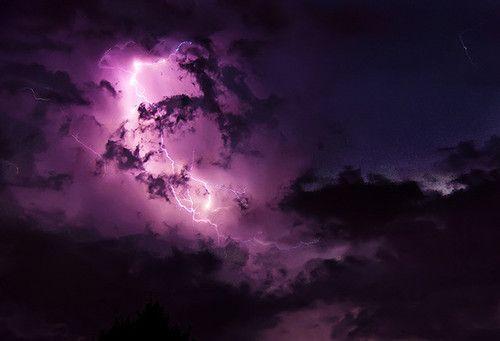 purple night sky lightningphotographypurpleskynight