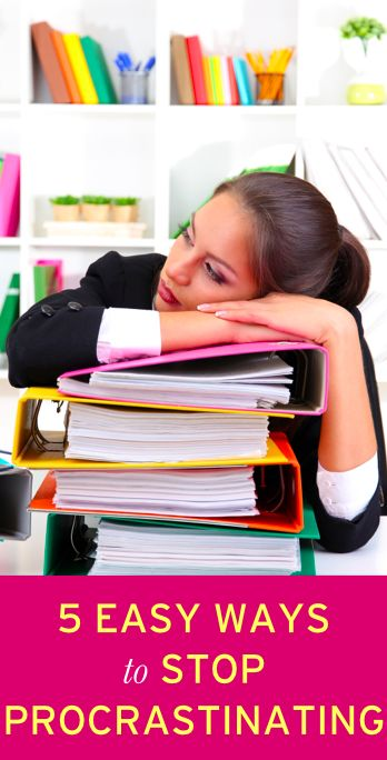 How to stop procrastinating and start getting more work done
