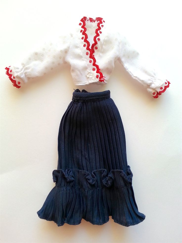 "Mary Quant Daisy barbie clothes/ outfits. ""Tivoli"",  edestä/ front (pic1). Real vintage 1970s.  Price/ hinta 30e + postage."
