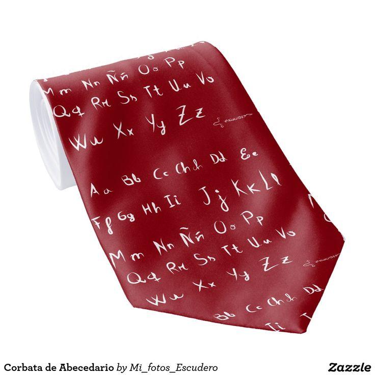 Corbata de Abecedario