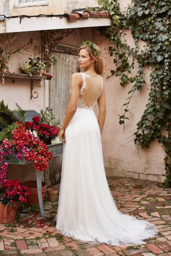 16 best Vestidos novia images on Pinterest | Bridal, Wedding dress ...