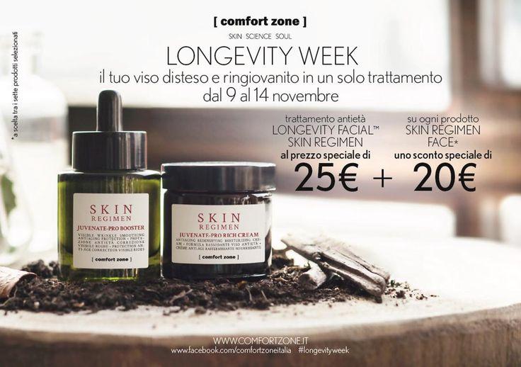 Dal 9 al 14 novembre al TSPA di  Cagliari vi aspettiamo con la settimana dedicata alla longevità!