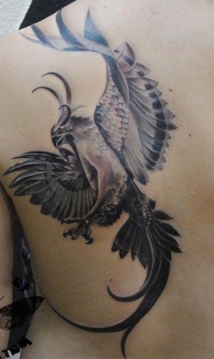 1000 id es sur le th me phoenix back tattoo sur pinterest. Black Bedroom Furniture Sets. Home Design Ideas