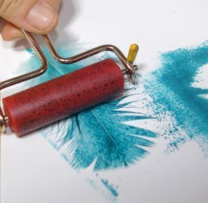 Print with a Feather to Produce Fantastic Images - Quick and Cheap!: Ink the Feather