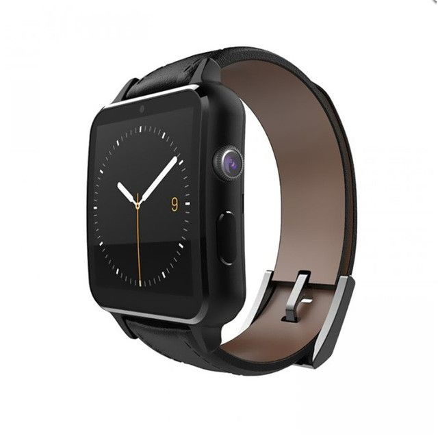 A8 SIM Bluetooth Health Fitness Heart Rate Monitor MTK2502 Smartwatch Leather Smart Watch Health Android Clock Phone Wristwatch
