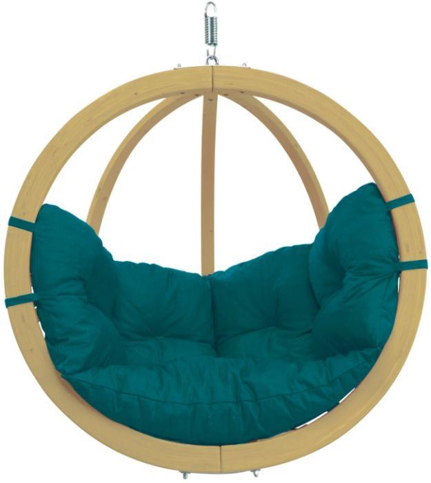 závěsné křeslo houpací Globo Chair Green | závěsná křesla | Houpací sítě - hamaky | Luxo Koupelny - levná koupelna