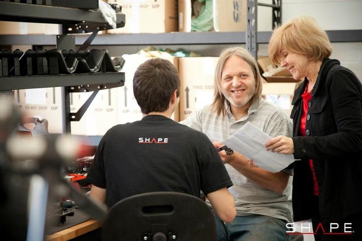 François, Danielle & Marius discussing