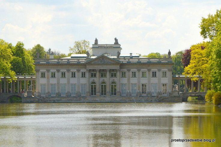 Łazienki Królewskie w Warszawie | Prosto przed siebie