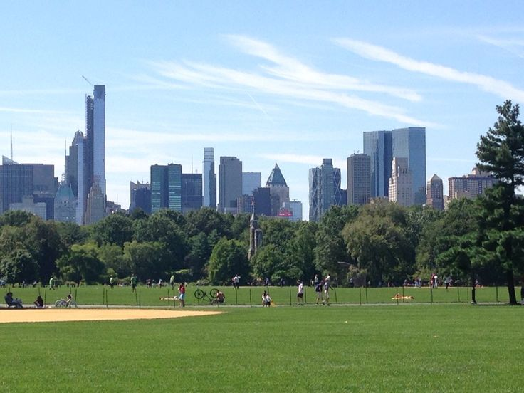 Central Park Great Lawn Softball Field #7 in New York, NY