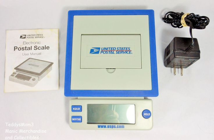USPS 10 lb Digital POSTAL SHIPPING SCALE Model PS100 Desktop Office or Home  #USPS