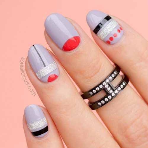 18 FUN DESIGNS FOR OVAL NAILS THAT ROCK ANYWHERE – Nageldesign & Nailart