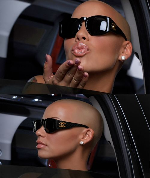 CHANEL! Amber Rose is a goddess!
