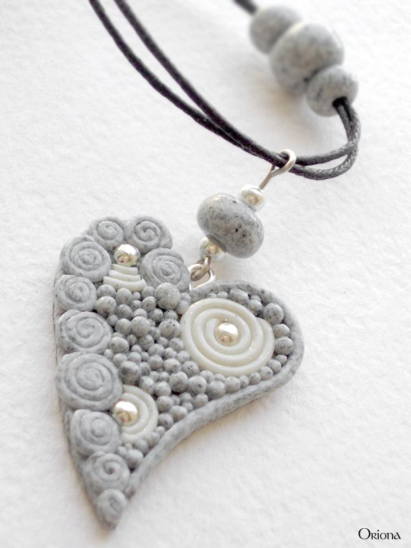 """""""Granite heart"""" by OrionaJewelry.deviantart.com on @deviantART. could use this as inspiration for a rock mosaic for a rock garden?"""