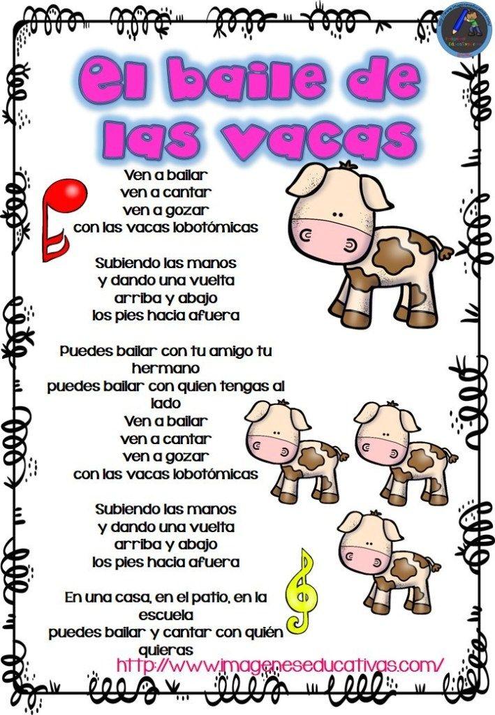 Las Canciones De La Granja 8 Letras De Canciones Infantiles Canciones Infantiles Preescolar Canciones De Niños