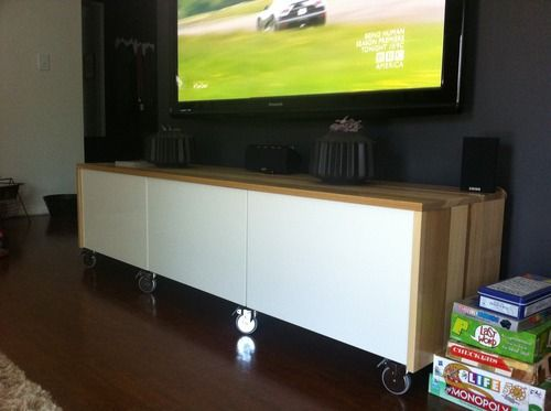 "IKEA Hackers: ""I gave it my besta shot"" TV console"