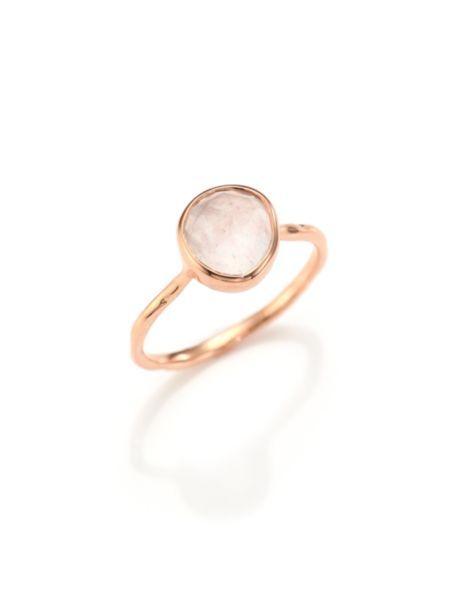 Monica Vinader - Rose Quartz Siren Ring