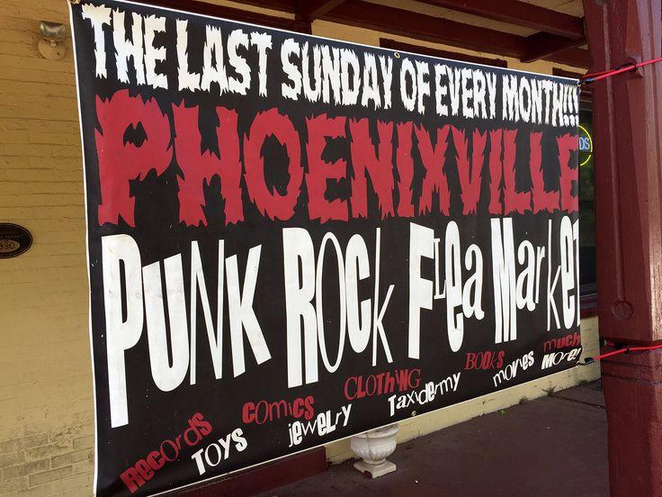 Punk Rock Flea Market at Pickering Creek Inn in Phoenixville, PA