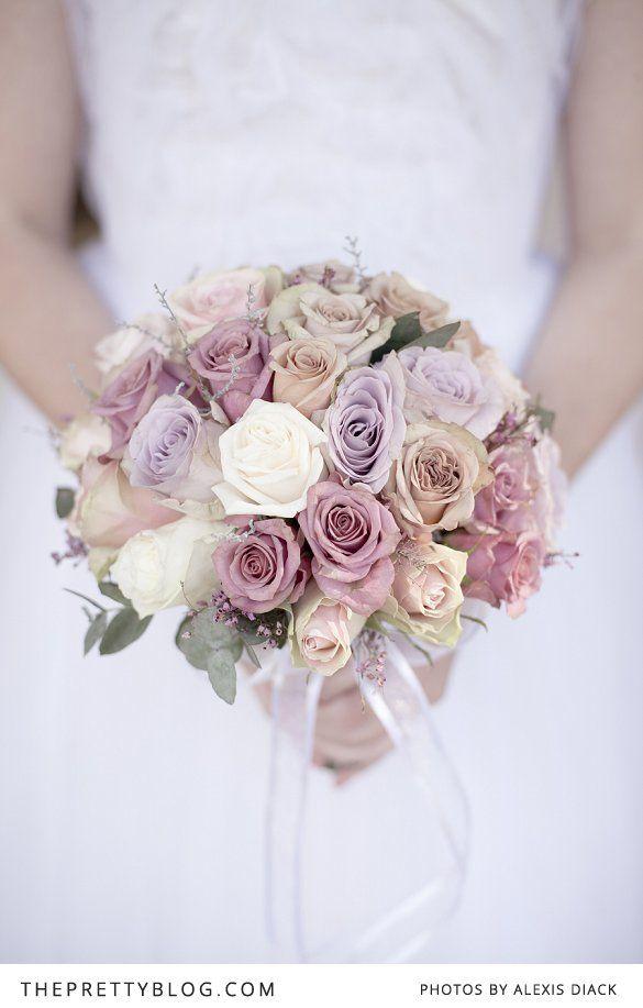 Idée bouquet de la mariée ou pour table de réception. _ Idea bouquet of the bride or for reception table.