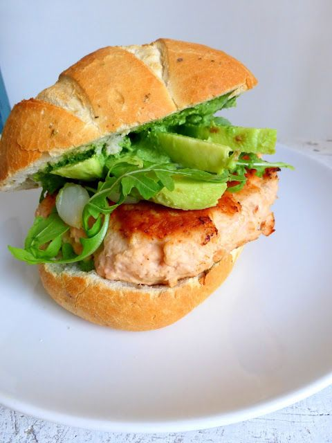 Things you love to eat: Zalm hamburgers recept