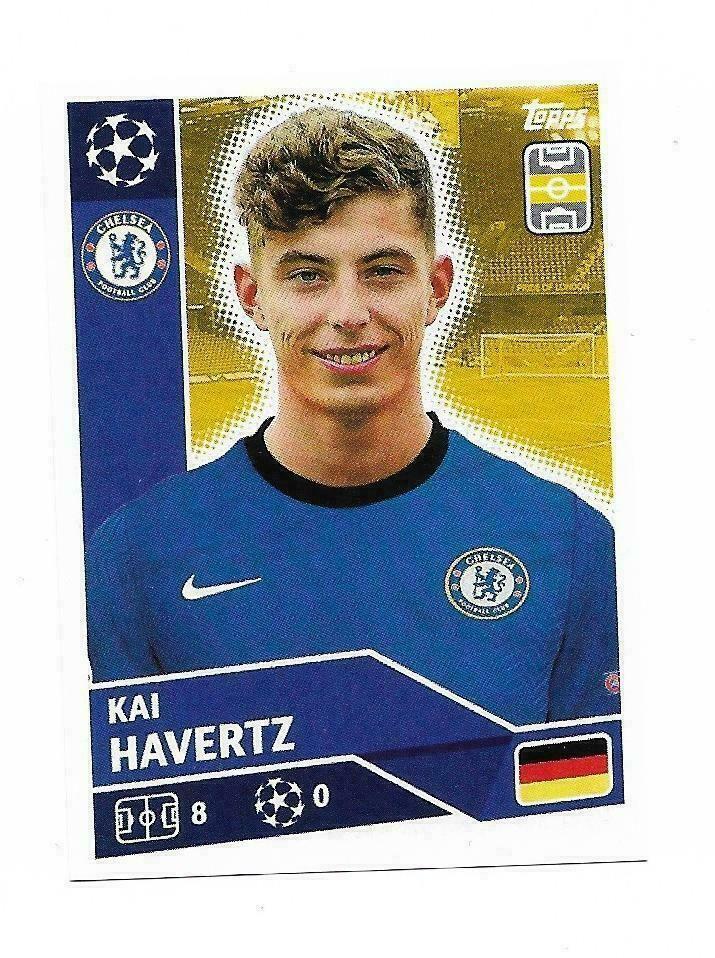 2020 21 Topps Champions League Kai Havertz Chelsea F C Che11 Rc Invest Champions League Chelsea Champions League Chelsea News