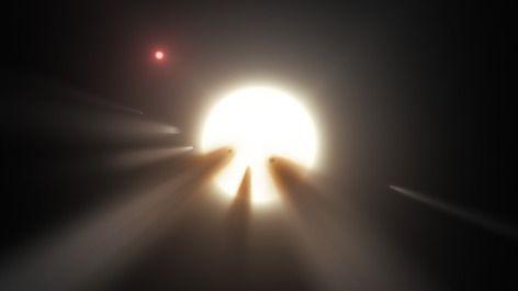 Essaim de comètes 2 - civilisation extraterrestre 0