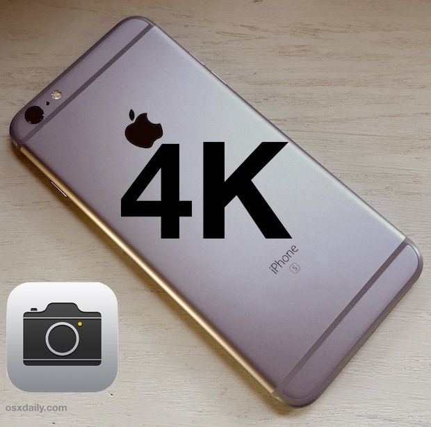 How to Record 4K Video on iPhone 6S & iPhone 6s Plus