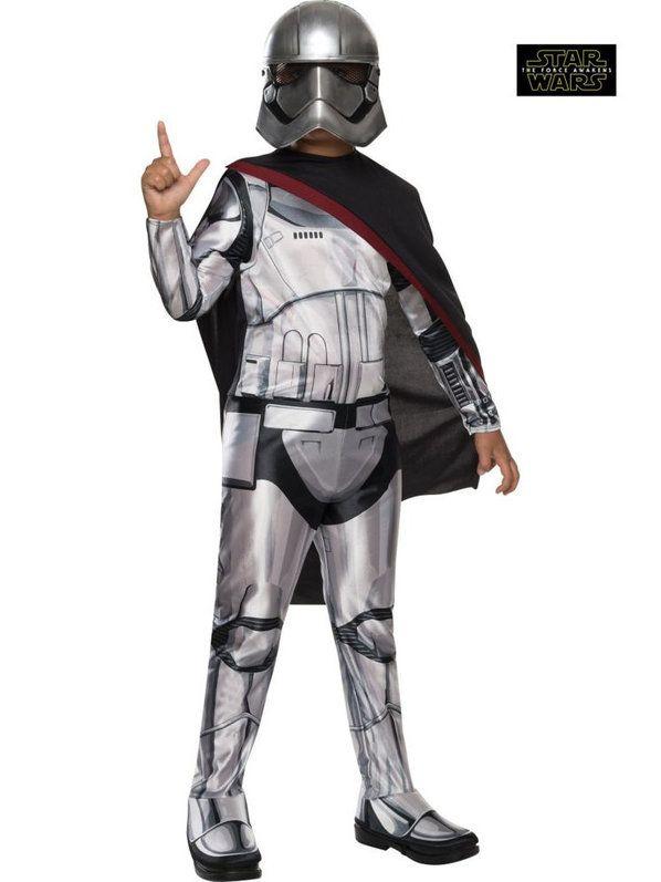 Star Wars Episode VII Captain Phasma Girl's Costume