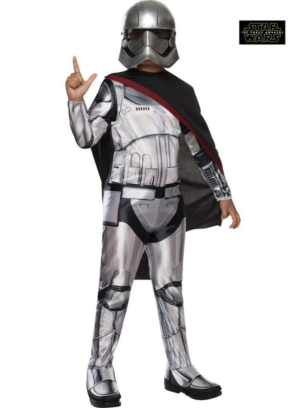 Star Wars Episode VII Captain Phasma Girl's Costume