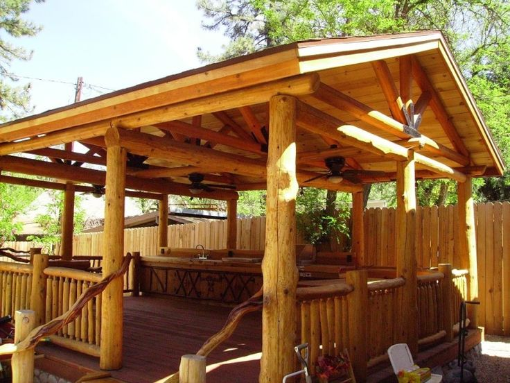All of our projects are original and custom designed to for Rustic gazebo plans